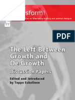 Transform the Left Between-growth and Degrowth