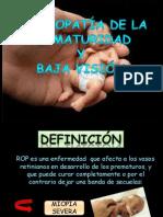 a de La Prematuridad