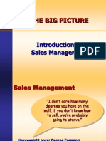 Introdution to Sales Management