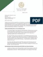 2012 Budget Letter 3.22.12