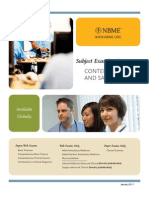 NBME Subject Exam Content Outlines and Sample Items