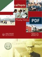 Hamdard Prospectus 2012-13