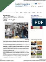15-03-12 Puebla Online - Abren EXINTEX 2012 en Puebla