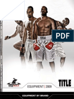 TITLE Boxing/MMA 2009 Equipment Catalog