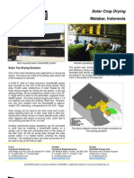 SolarWall Case Study - Malabar Indonesia (solar process drying system)
