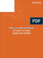 VP 540i Manual Usuario