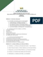 Curso Derecho Politico 2012