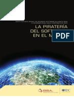 La Piratería del Software en el Mundo