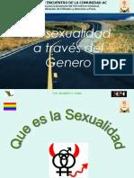 La Sexual Id Ad a Traves Del Genero