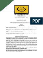 Normas Deontologicas Del Colegio de Arquitectos de Guatemala