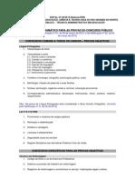 Conteudo Programas Edital 09 2012 v3