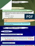 Cara Pentaksiran Bahasa