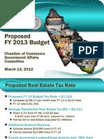 Prince William County Budget Presentation Chamber 3 14 12