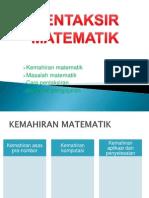 Pentaksiran Matematik