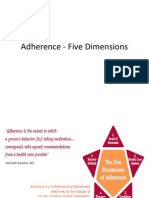 Adherence Five Dimensions