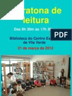 Maratona de leitura 2012