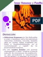 RELACIONES HUMANAS y Familia. dos Nov.