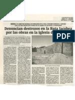 20010419 H Denuncia Obras SJ Ruesta