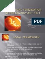MTP Act, Final Ppt