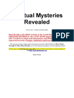 Spiritual Mysteries Revealed
