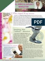 College Drive Dental Spring 2012 Newsletter