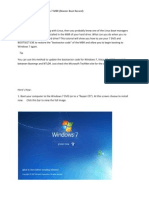 How to Restore the Windows 7 MBR
