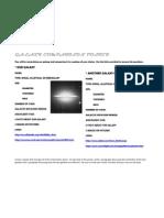 Galaxy Comparison Poster