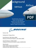 Team 4 Airbus Boeing (Harvard Team Presentation - Background on Companies)