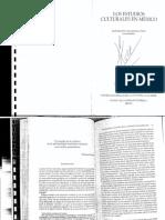 Esteban Krotz El Estudio de La Cultura en La Antropologia Mexicana Reciente Una Vision Panoramic A (1)