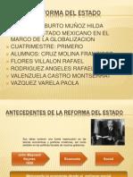 exposicion reforma economica