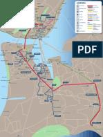 Lisbon Transport Map