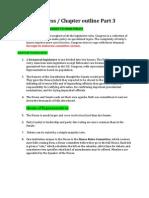 Congress Lecture Notes Part 3