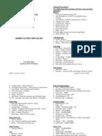Cessna 152check List