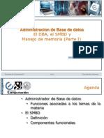 ABD el Administrador de Base de Datos y Manejo de memoria (Parte I)