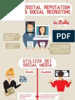 Digital Reputation Social Recruiting Adecco Infografica 2012