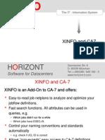 Xinfo - Scheduler Zos - Ca7