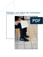 Rediger Une Lettre de Motivation