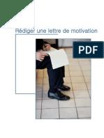 Rediger Une Lettre de Motivation