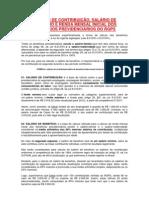 SALÁRIO DE CONTRIBUIÇÃO INSS