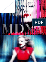 Digital Booklet - MDNA (Deluxe Versi