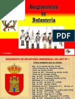 Regimientos de Infantería