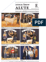 Gonzales Cannon Special Section - Livestock Salute