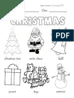 Worksheet Christmas
