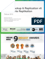 2011-11 V1.11k DE Andreas Neufert - Veeam Backup & Replication v6 – Replication