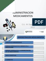 Admin is Trac Ion de Medicamentos Vias y Multiplicidad de Terapias