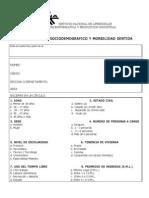 Encuesta Perfil Sociodemografico y Morbilidad Sentida[1] Gobernacion