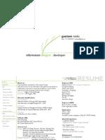 Academic design portfolio