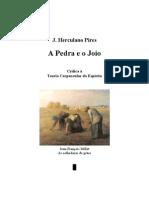José Herculano Pires - A Pedra e o Joio