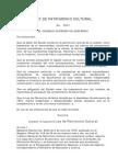 LEY DE PATRIMONIO