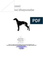 Greyhound Health Packet